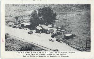 W/B Cooks Service Station Hwy 69 Winston Missouri MO