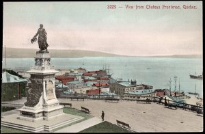 Quebec ~ View of the Citadel QUEBEC CITY 1900s Vintage - Divided Back