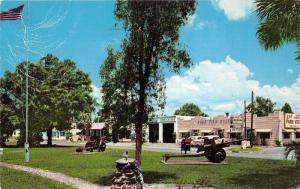 St Cloud Forida~Veterans Memorial Park~Artillery Guns~Fountain~Restaurant~1859