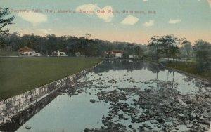BALTIMORE, Maryland, 1900-1910s ; Gwynn's Fall Run