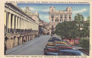 Government Palace,Majestic Hotel at Independence Square, Quito,Ecuador,30-40s