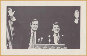 I Am Supporting Governor Regan & Ambassador Bush, Republican Party of Wisconsin.