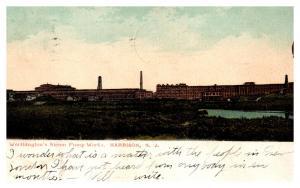 New Jersey  Harrison , Worthington's Steam Pump Works