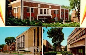 Ohio Akron Memorial Buchtel and Kolbe Halls University Of Akron