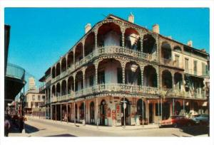 Iron Lace Balconies,  New Orleans,  Louisiana,   40-60s