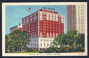 Olds Hotel Lansing MI unused c1933