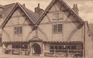 England Winchester Oldest House Old Cheesehill Rectory