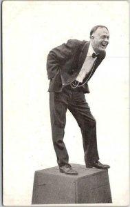 c1910s BILLY SUNDAY Evangelist Preacher Postcard on Soapbox / Forward Pub. Co