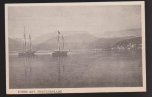 Fishing Schooners In Bonne Bay, Newfoundland 1940s - Unused