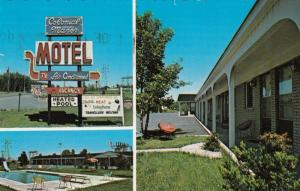 CORNWALL , Ontario , Canada , PU-1986; Colonial Manor Motel, Swimming Pool