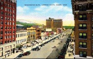 Utah Ogden Washington Boulevard Looking South