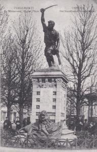 TIRLEMONT, Belgiium, 1900-1910's; Le Monument Grand Place