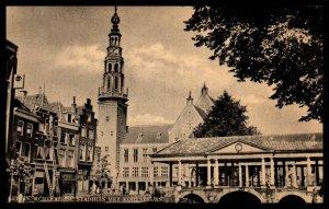 Achterzide Stadhaus Met Korenbeurs,Leiden,Netherlands BIN