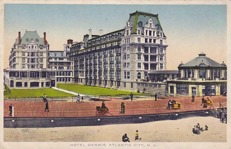 Hotel Dennis, Atlantic City, New Jersey, 1910-1920s