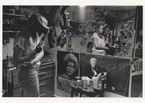 Billy Idol Generation X Punk Rock 1980s Girl Hairstyle Postcard