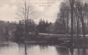 View In Elizabeth Park, HARTFORD, Connecticut, 1900-1910s