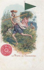La Poste au CACHEMIRE , India , 1902