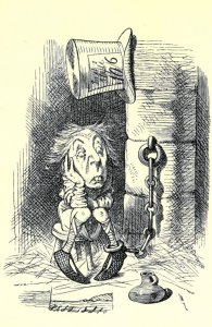 The Kings Messenger in Prison Nicholas Royle Alice In Wonderland Postcard
