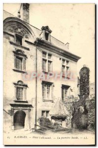 Old Postcard Bourges Hotel Premiere Lallemand The Facade