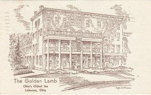 LEBANON , Ohio, 1964 ; The Golden Lamb Inn