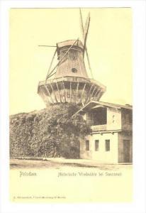 Historische Windmuhle Bei Sanssouci, Potsdam (Brandenburg), Germany, 1900-1910s