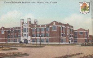 WINDSOR , Ontario , Canada , 00-10s ; Windsor-Walkerville Technical School
