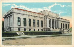 Hartford Connecticut~State Library~1920s