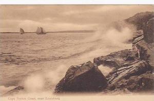 Cape Breton Coast, Near Louisburg, Nova Scotia, Canada, 1900-1910s