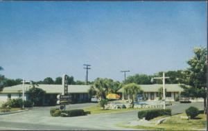 SARASOTA FL - TOWER COURT MOTEL, 1950s era ; DEMOLISHED / Fred Frederick