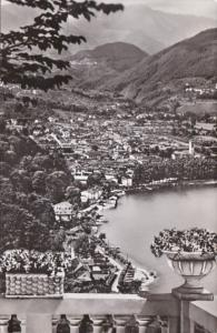 Switzerland Caslano Lago di Lugano 1954 Photo