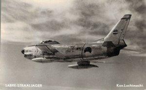 Sabre Jet Plane Royal Airforce RPPC 06.71