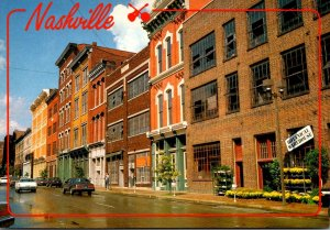 Tennessee Nashville Second Avenue The Original Market Street