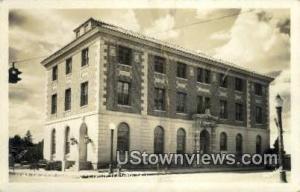 Real Photo - Federal Building Coeur d'Alene ID Unused