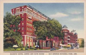 Majestic Hotel Annex And Bath House Hot Springs National Park Arkansas