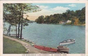 Connecticut South Coventry Lake Wangumbaug 1934