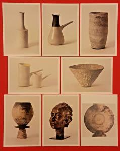 Set of 8 NEW Postcards Art Studio Pottery By Lucie Rie & Hans Coper