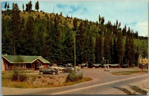 Hope, B.C. Canada Postcard TOWER RANCH Hope-Princeton Highway Roadside 1962