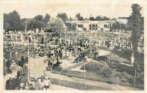 Hungary Hajduszoboszlo 1942 crowded swimming pool
