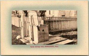 Marblehead, Massachusetts Postcard Agnes Surriage Well A. Kagan c1910s Unused