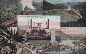 railroad ferry boat gold ray dam wolf creek loop dollarhide trestle shasta route