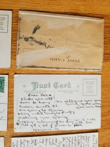 10 Old Embossed Post Cards