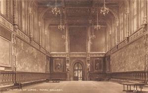 Houses of Parliament, Royal Gallery, The House of Lords, hall 1929