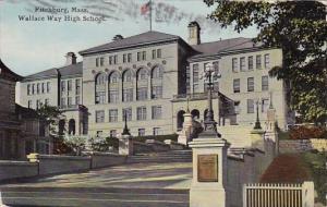 Wallace Way High School Fitchburg Massachusetts 1911