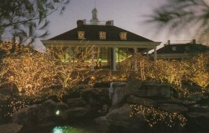NASHVILLE, Tennessee, 1940-60s; Opryland Hotel at Christmas