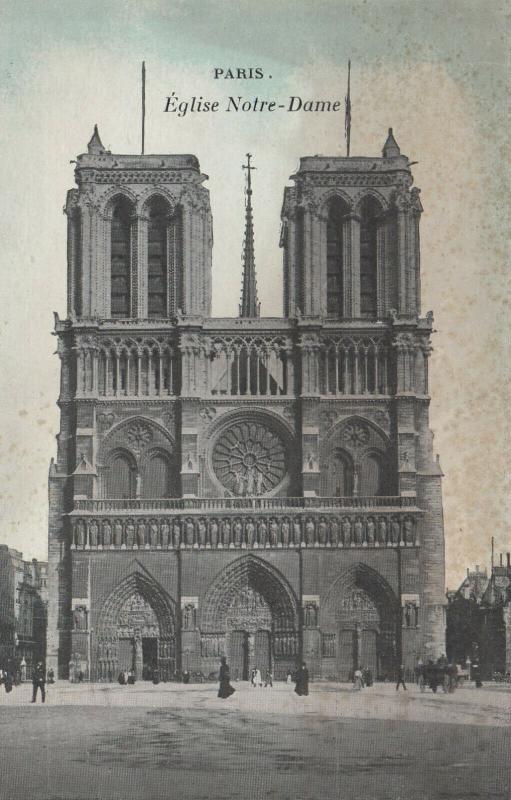 PARIS, France , 00-10s ; Eglise Notre-Dame