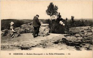 CPA NEMOURS - Rochers Beauregard - La Table d'Orientation (249752)