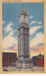 Massachusetts Boston Custom House 1944