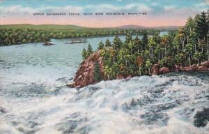 Michigan Iron Mountain Upper Quinnesec Falls