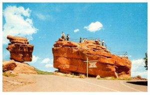 Colorado  Balanced Rock and Steamboat Rock
