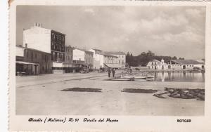 RP: Aleudia (Mallorica) R:91 Detalle del Puerto , Spain , 1930s